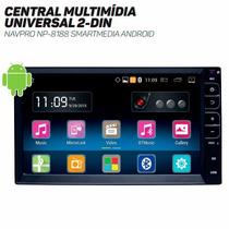 Central Multimídia Universal 2-din Navpro Np-8188 Smartmedia