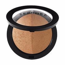 Sephora Baked Bronzer Duo - Bronzer- Honey Heat - Novo