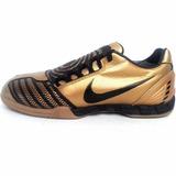 Tenis Nike Total Ninety Iii Suela Sala Ic Oro Fut Rapido