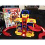 Posto Brinquedo Eletronic Station Park Play Gigante 3 Levels