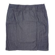 Saia Evangélica Em Jeans Black Tamanho 50 Ao 56