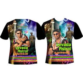 Camisas Manga Curtas Banda Levada Astral : Respeite O Negão