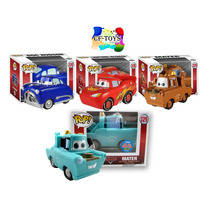 Cars Set 4 Piezas Funko Pop Pelicula Cars 3 Disney Pixar Cf