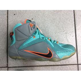 Zapatos Botas Nike Lebron James Xii 12 Damas Y Caballeros