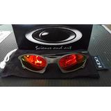 Oculos Oakley Penny Xmetal Lente Fire Red Polarizada Uv/uva