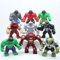 Mini Figuras Grandes Hulk,coisa,venom,homem De Ferro,duende