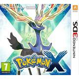 Pokemon X Nintendo 3ds-fisico-nuevo-sellado-en Caja