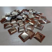Strass Hotfix Metal Liso 10mmx10mm