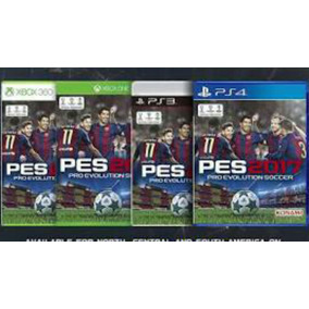 Ps4/xbox One Xbox 360/ps3 Pes 2017
