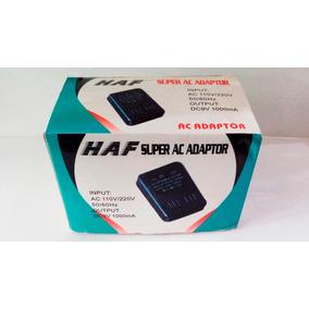 Fonte De Alimentação Haf Dc 9v 1000 Ma - Bivolt 110v/220v