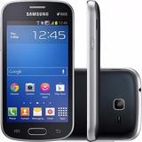 Samsung Galaxy Trend Lite Duos S7392 Preto 3g 4gb 3mp Nf-e