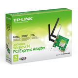 Adaptador Pci Express Inalámbrico N300 Tl-wn881nd Tp Link