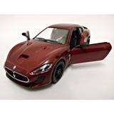 Miniatura 2016 Maserati Granturismo Mc Stradale Vinho 1:38
