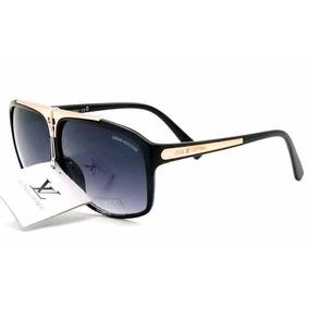 Óculos De Sol Evidence Preto L V Com Kit