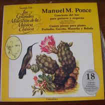 Clásica, Manuel Ponce, Lp 12