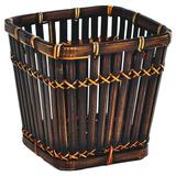 Cachepo De Bambu Quadrado - Gzt