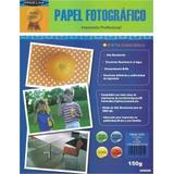 Papel Fotografico Office Line 150 Gramos Paquete 20 Hojas
