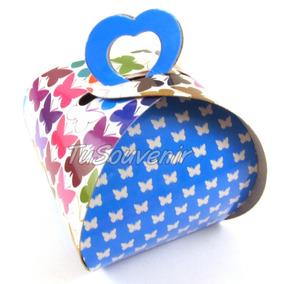 Caja Cajita De Carton X 50 U. Para Souvenirs O Regaleria