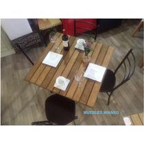 Mesa Para Restaurante Cafeteria Y Bar