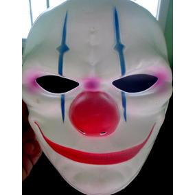 Máscara De Palhaço Assassino Cosplay Fantasia