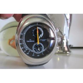 Relógio Technos Cronógrafo Os11ad, Original Revisado Lindo !