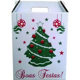 Caixa Cesta De Natal (pacote Com 50 Unidades)