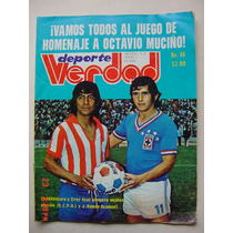 Chivas De Guadalajara Revista De Futbol Octavio Muciño 1974