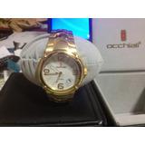 Reloj Occhiali Dorado - Nuevo De Paquete