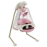 Silla Fisher-price Mecedora Columpio Mariposa Rosado