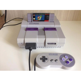 Super Nintendo Travado Completo Original Mario World Zerado