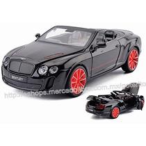 Auto Bentley Super Sport 1/32 Metal Luz Sonidos Pull-back !!
