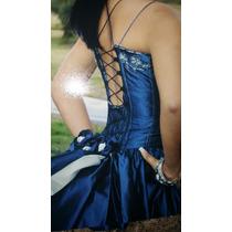 Vestido Para 15 Años Color Azul Petroleo