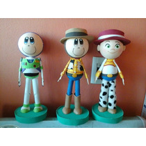 Centros De Mesa Toy Story Fiestas Personajes Fofuchas
