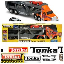 Tonka Titans Transportador De Carros Con Sonidos Y Luces!!!