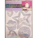 Stickers Holograma Para Cuarto De Niñas - Nuevos!!
