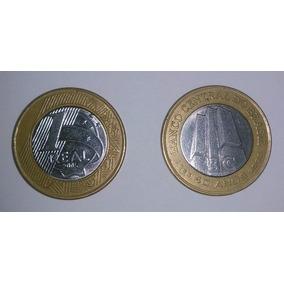 Moeda Comemorativa Banco Central 40 Anos 1965 - 2005 (usada)