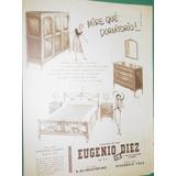 Publicidad Juego De Dormitorio Muebles Eugenio Diez