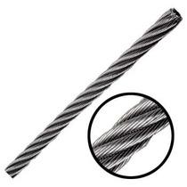 Cable De Acero En Rollo 7x19 3/4 Pulgadas Y 150 Metros Obi