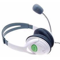Audifonos Y Microfono Xbox 360. Xbox Live Envio Gratis 48hrs