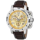 Swiss Legend Hombres Scubador Cronógrafo Reloj De Brown D