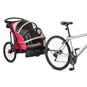 Remolque Schwinn Joyrider Doble De Bicicletas