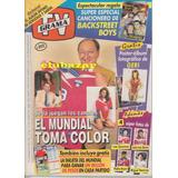 Antigua Revista Tv Grama # 603 Junio 1998 Javier Miranda