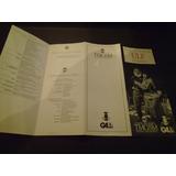 Programa Teatro San Martin - Ulf Juan Carlos Gene