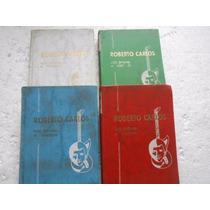 Roberto Carlos Em Prosa E Versos 4 Livros Originais Oferta