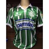 Camisa Do Palmeiras Retro 1993 Parmalat Número 7 E 10