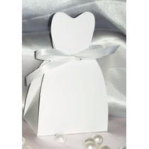 100 Caixinhas Vestido De Noiva Lembrancinhas Bem Casado