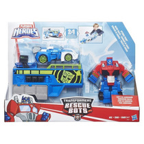 Transformers Playskool Rescue Bots Trailer Corrida - Hasbro