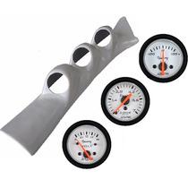 Kit Coluna Gol Quadrado +3 Manômetros Willtec Tunning Turbo