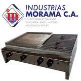 Cocina Industrial De Mostrador De 2 Hornillas Con Plancha