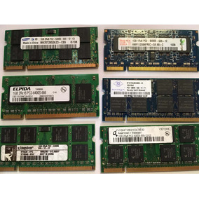Memoria Laptop 1gb Ddr2 - Varias